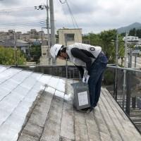 屋根 シーラー2回目 (3)