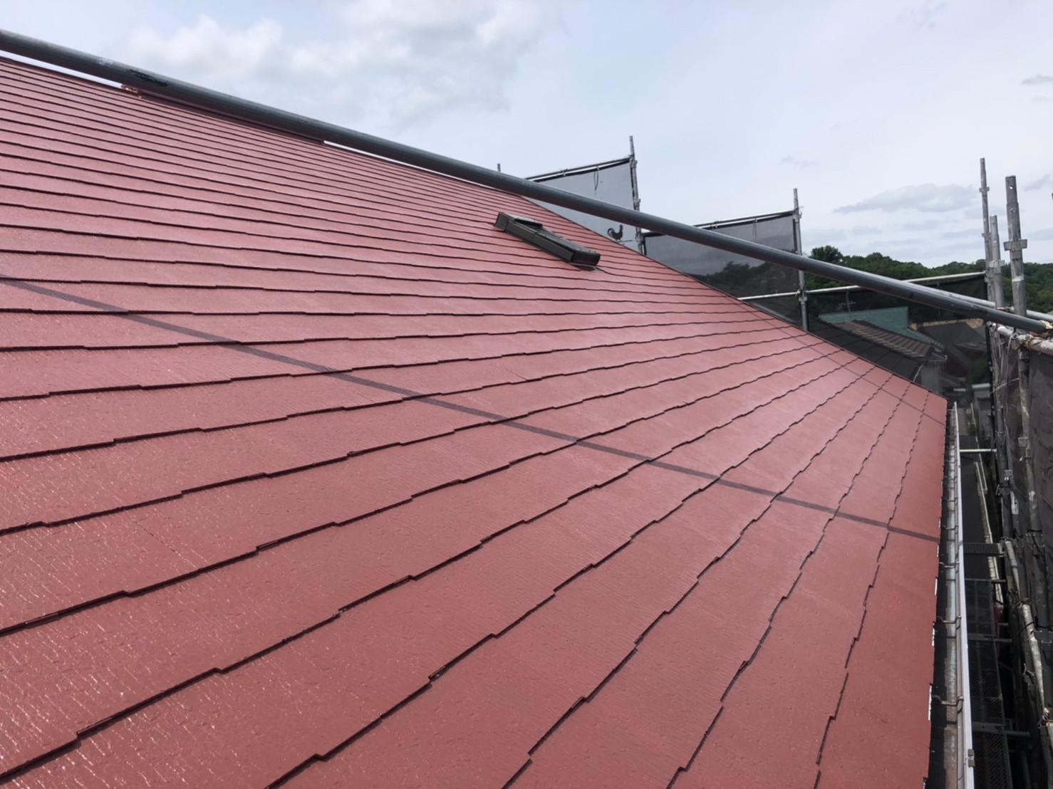屋根 施工完了 (2)